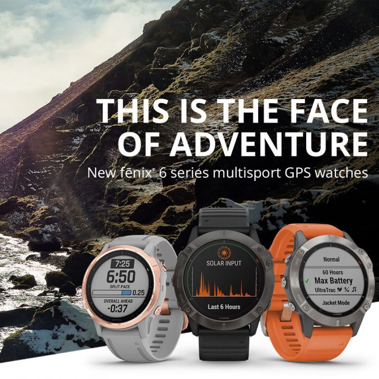 Garmin Fenix 6 Header