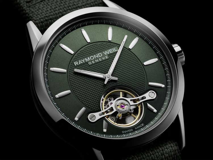 Raymond Weil Reveals New Green Freelancer