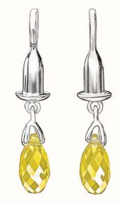 Chamilia Sterlingsilberohrring Wulst drop - briolette - gelb 1320-0003