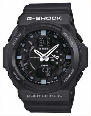 Casio Herren G-Shock Chronograph schwarz GA-150-1AER