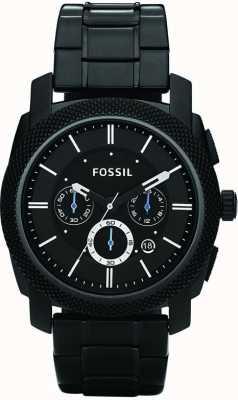 Fossil Mens schwarz Chronograph Armbanduhr FS4552