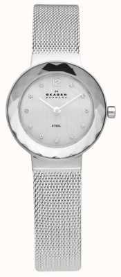 Skagen Ladies Stahlnetz Armbanduhr 456SSS
