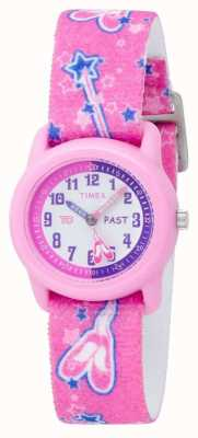 Timex Kids Rosa Ballerina Analog Armband T7B151 Armbanduhr