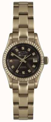 Rotary Roségold der Damen les originales verbier watch ex-display LB08153/16EX-DISPLAY