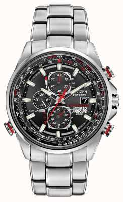 Citizen Gent roten Pfeile an d9 Chronograph Eco-Drive-Uhren AT8060-50E