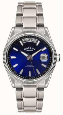 Rotary Gent Edelstahlarmband havana Uhr GB02660/05