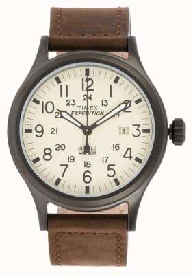 Timex Mens Expedition Scout braun Uhr T49963
