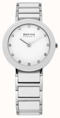 Bering Keramik- und Metall-Armbanduhr 11429-754
