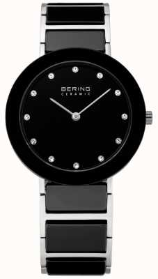 Bering Kristalleinfügung Keramik Designer-Uhr 11435-749
