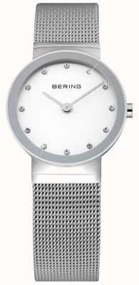 Bering Time Damenuhr | Edelstahl Silber Mesh Armband | 10126-000