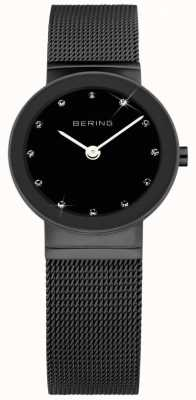 Bering Damen Edelstahl analoge Uhr des Quarzes 10126-077