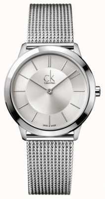 Calvin Klein Minimale Sammlung   Edelstahl-Maschenband   K3M22126
