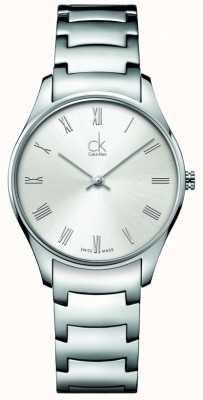 Calvin Klein Klassische Edelstahl Damenuhr K4D2214Z