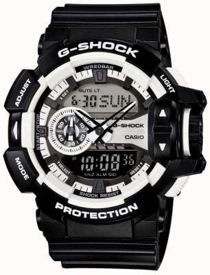 Casio Mens G-Schock schwarz Uhr Bluetooth GA-400-1AER
