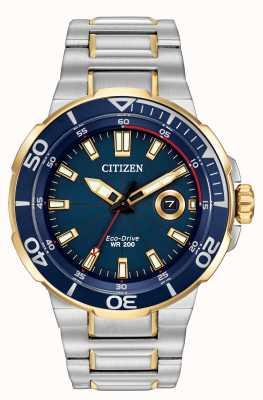 Citizen Mens Bemühung Eco-Drive-Uhren AW1424-54L