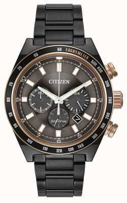 Citizen Gunmetal Eco-Drive Uhr CA4207-53H