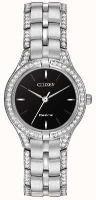 Citizen Ladies 'Silhouette Kristall Eco-Drive Uhr FE2060-53E