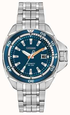 Citizen Automatik Grand Touring Signature Sport Edelstahl NB1031-53L