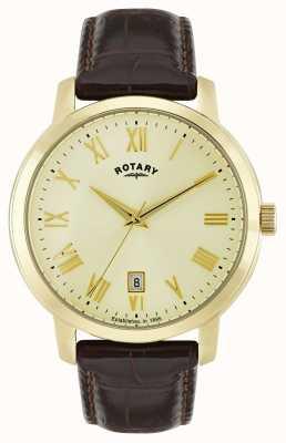 Rotary Mens Sloane Goldton Uhr GS02462/03