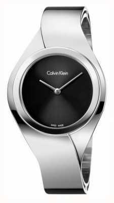 Calvin Klein Damen Edelstahl analoge Uhr des Quarzes K5N2M121