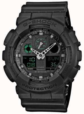 Casio G-Schock Stealth grün schwarz Mens World Timer GA-100MB-1AER
