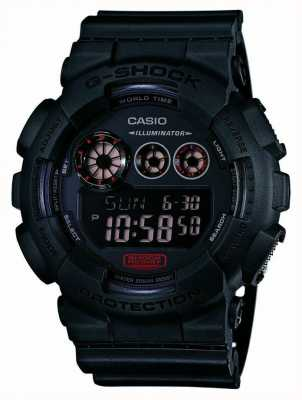 Casio Mens g-shock matt schwarz Resinarmband GD-120MB-1ER