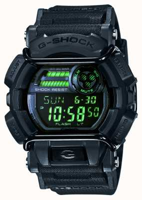 Casio G-Shock Herren schwarz Stealth-Timer GD-400MB-1ER