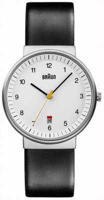 Braun Mens alle weiß schwarz Uhr BN0032WHBKG