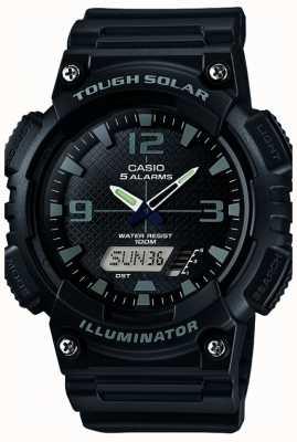 Casio Mens fünf solarbetriebene Alarmleuchte schwarz AQ-S810W-1A2VEF