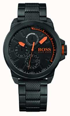 Hugo Boss Orange Gents schwarz IP Zifferblatt schwarz 1513157