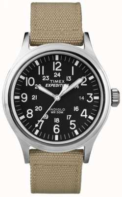 Timex Mens schwarz Expedition Scout Uhr T49962