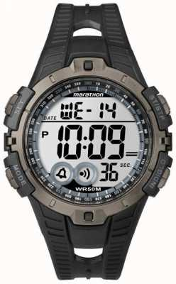 Timex Herren Indiglo Marathon Alarm Chronograph T5K802