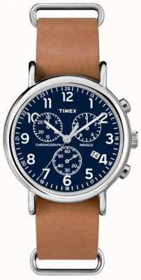 Timex Gents Chronograph weekender überdimensionalen TW2P62300