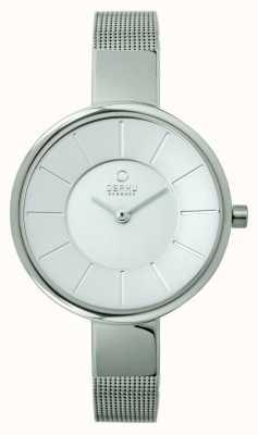 Obaku Damen Edelstahlgewebe Armband V149LXCIMC