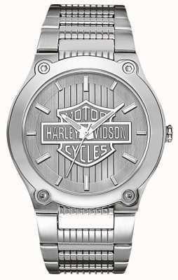 Harley Davidson Edelstahl mit Leuchtzeigern 76A134