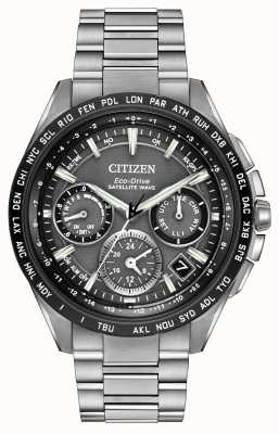 Citizen Mens F900 GPS-Satelliten-Welle Chrono CC9015-71E