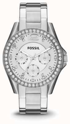 Fossil Ladies riley Edelstahl ES3202