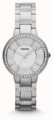 Fossil Womens Virginia Edelstahl ES3282
