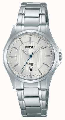 Pulsar Ladies Edelstahl Zifferblatt silber PH7423X1