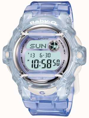 Casio Die Digitaluhr der Baby-g lila / blauen Frauen BG-169R-6ER