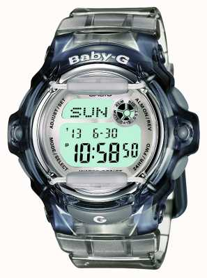 Casio Frauen Baby-g transparent digital BG-169R-8ER