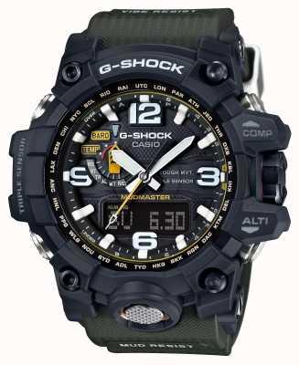 Casio Premium Mudmaster G-Shock Robustes Solar RC GWG-1000-1A3ER