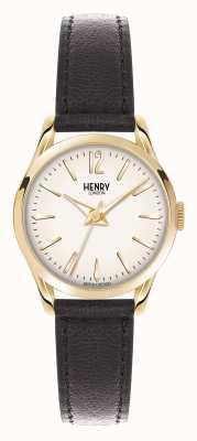 Henry London Westminster braunes Lederarmband Champagner HL25-S-0002