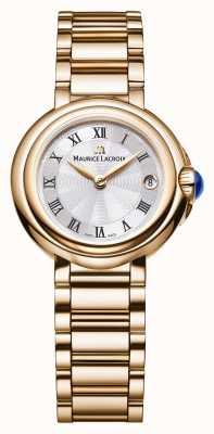 Maurice Lacroix Damen Fiaba 28mm Datum Gold Ton FA1003-PVP06-110-1