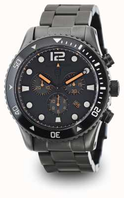 Elliot Brown Mens Bloxworth Rotguss vernickelt graues Zifferblatt 929-004-B05