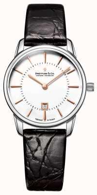 Dreyfuss Womens 1980 Leder Uhr DLS00135/01