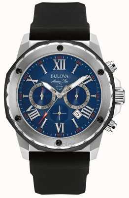 Bulova Marine-Sterne-blaues Zifferblatt 98B258