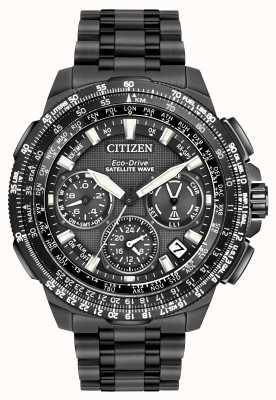 Citizen Promaster navihawk gps schwarz super titanium CC9025-85E