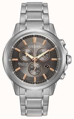 Citizen Eco-Drive Titan Herren WR100 AT2340-56H