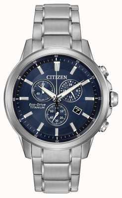 Citizen Eco-Drive Titan Chronograph AT2340-56L